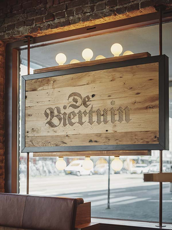 De Biertuin Amsterdam West Craft Beer Bar Designed by Studio Modijefsky