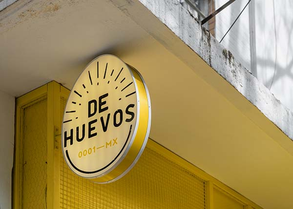 De Huevos Mexico City, Condesa Restaurant Designed by Cadena + Asoc. Concept Design