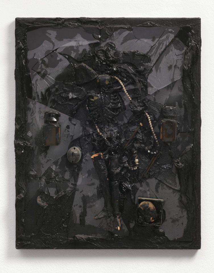 Derek Jarman Black Paintings