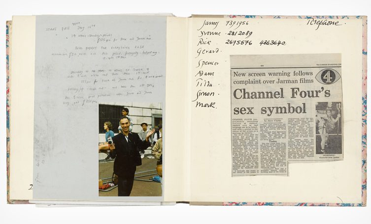 derek jarman diaries