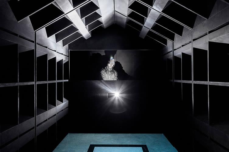 Bureau a, DJ booth inside The Club, Lisbon Architecture Triennale 2016