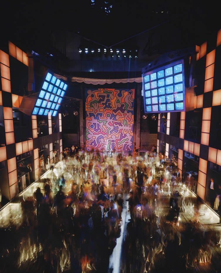Palladium, New York, 1985