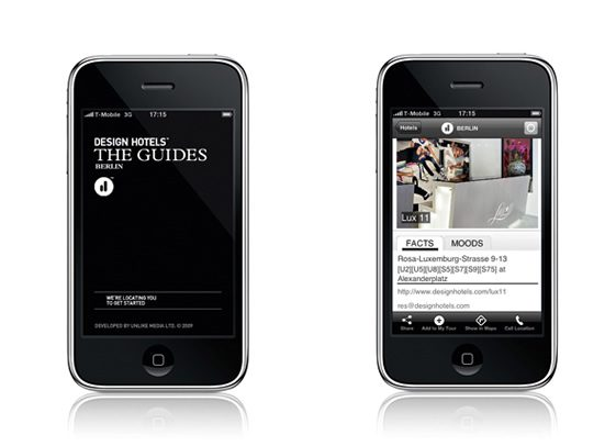 Design Hotels™ & Wallpaper* iPhone Apps