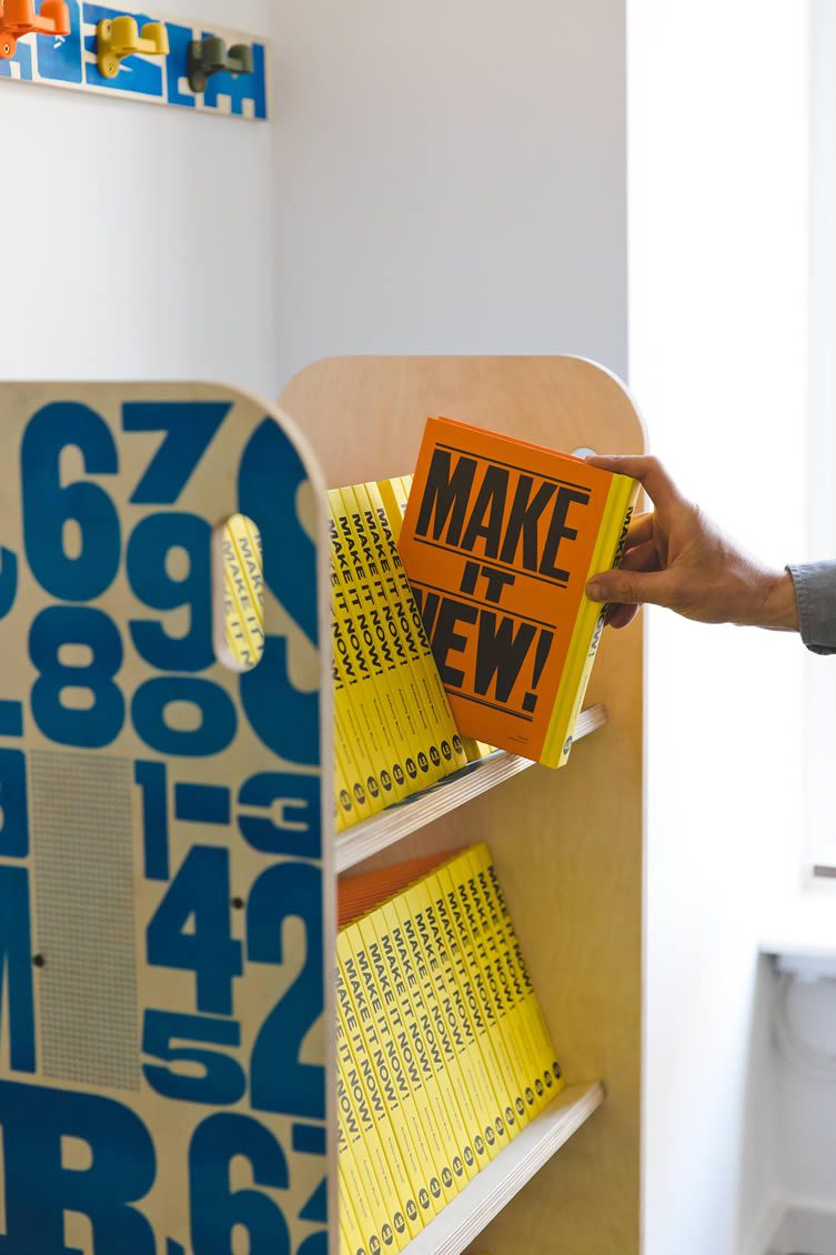 Make it Now Book Installation at Clerkenwell London