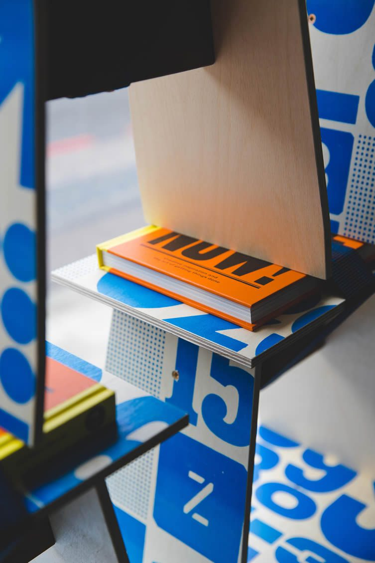 Anthony Burrill and Michael Marriott, Design Undefined at Clerkenwell London
