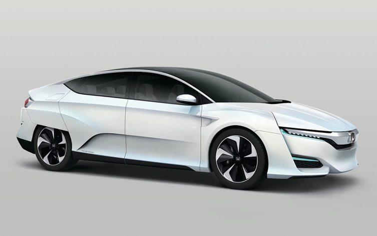 Honda FCV at Detroit Motor Show 2015