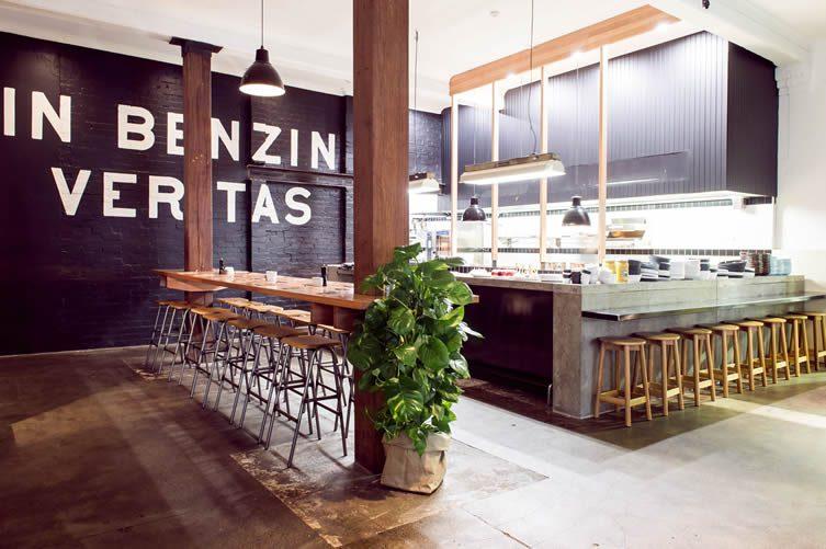 Deus Bar & Kitchen at Deus Ex Machina Camperdown, Sydney