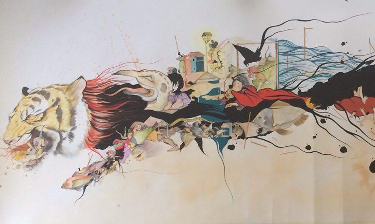 Devin Liston and Gosha Levochkin at Soze Gallery, Los Angeles
