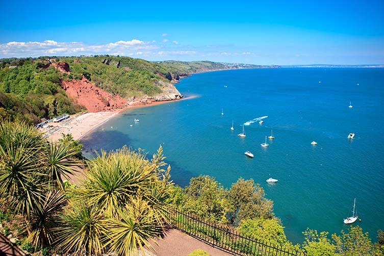 Babbacombe Beach, The English Riviera