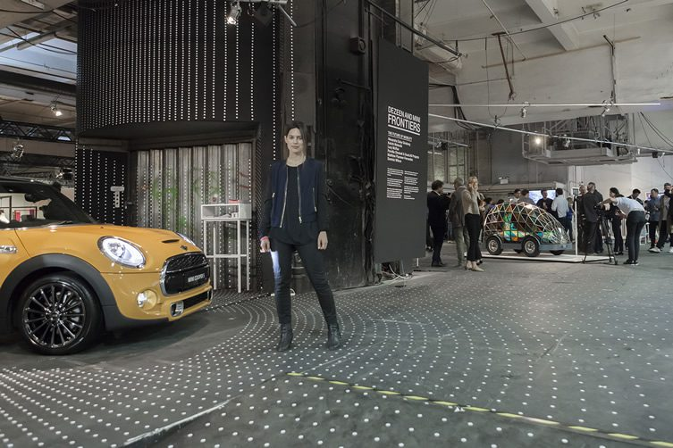 Pernilla Ohrstedt at Dezeen and MINI Frontiers: The Future of Mobility, at London Design Festival 2014