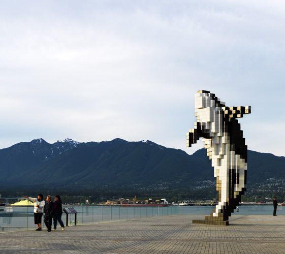 Digital Orca by Douglas Coupland