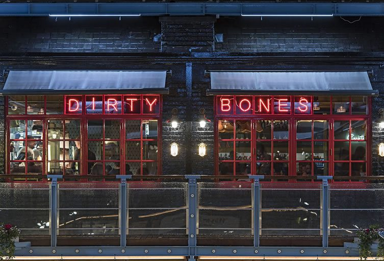 Dirty Bones Carnaby, London