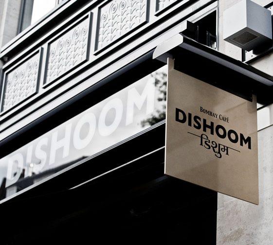 Dishoom Bombay Café, London