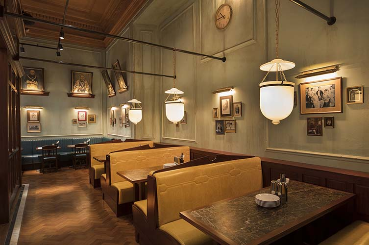 Dishoom Manchester, Indian Restaurant Informed by Bombay's Old Irani Cafés