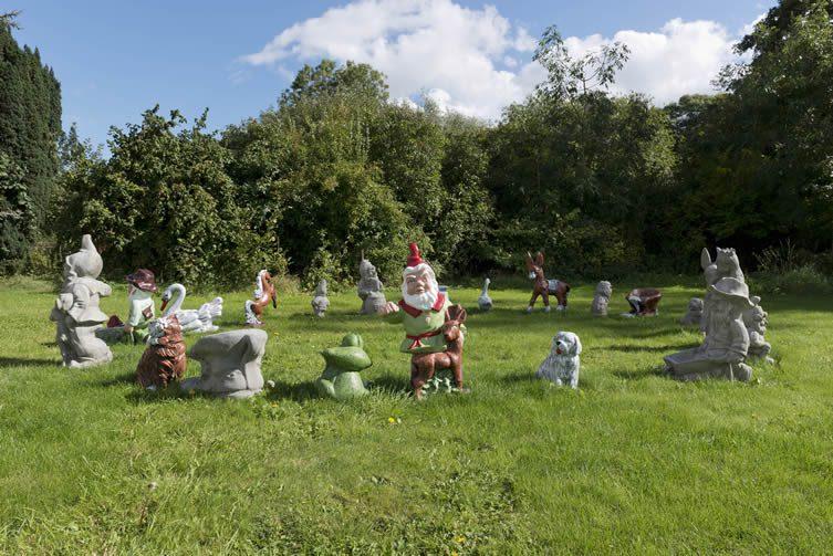 Djordje Ozbolt, OD, 2016 Concrete garden gnomes