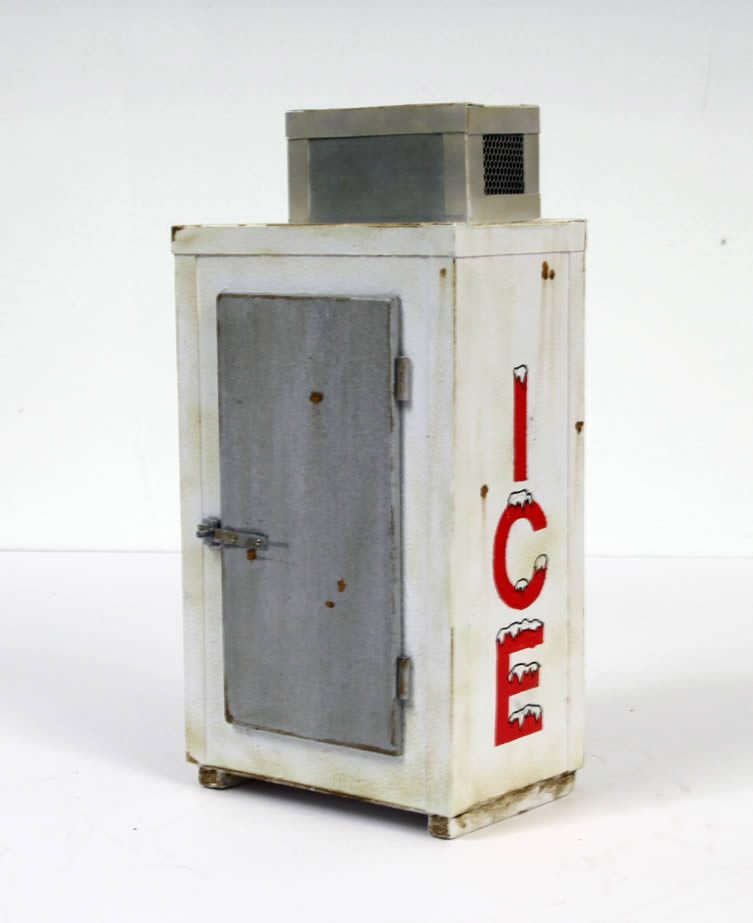Drew Leshko, Ice Box (red), 2016