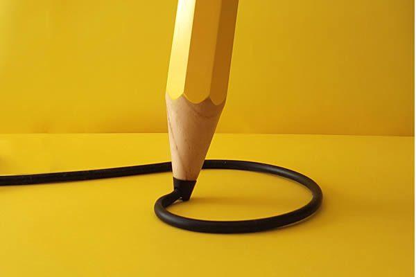 Michael & George, Drew the Pencil Lamp