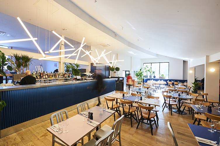 EartH Kitchen Dalston, Stoke Newington Restaurant in Music Venue, Hackney London
