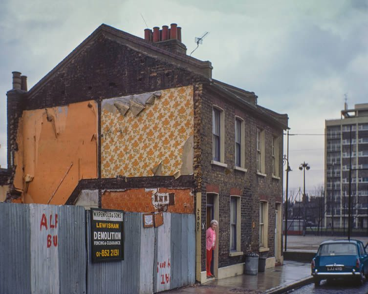 Belhaven Street, 1977, David Granick, East End in Colour 1960-1980 Published by Hoxton Mini Press