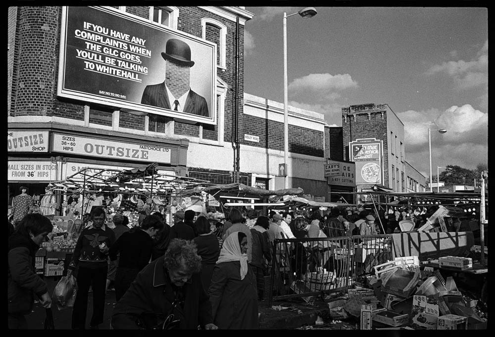 Andrew Holligan, Dalston in the 80s