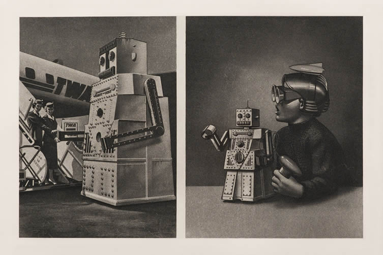 Eduardo Paolozzi at Whitechapel Gallery London