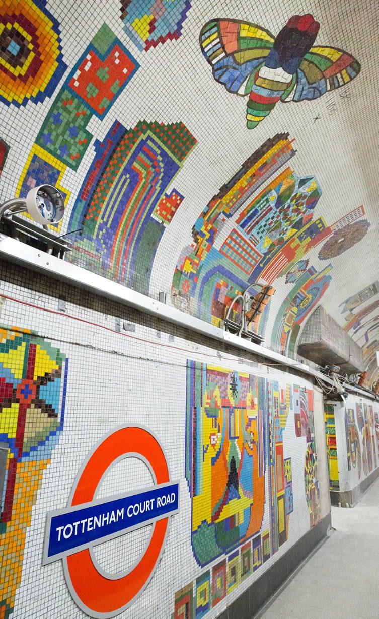Eduardo Paolozzi Tottenham Court Road Underground Station