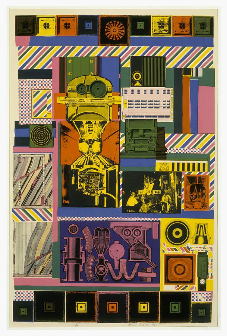 Eduardo Paolozzi, Conjectures to Identity, 1963–64