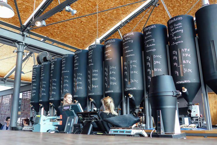 elbgold Kaffee, Elbgold Hamburg Coffee Roasters and Third Wave Coffee Café