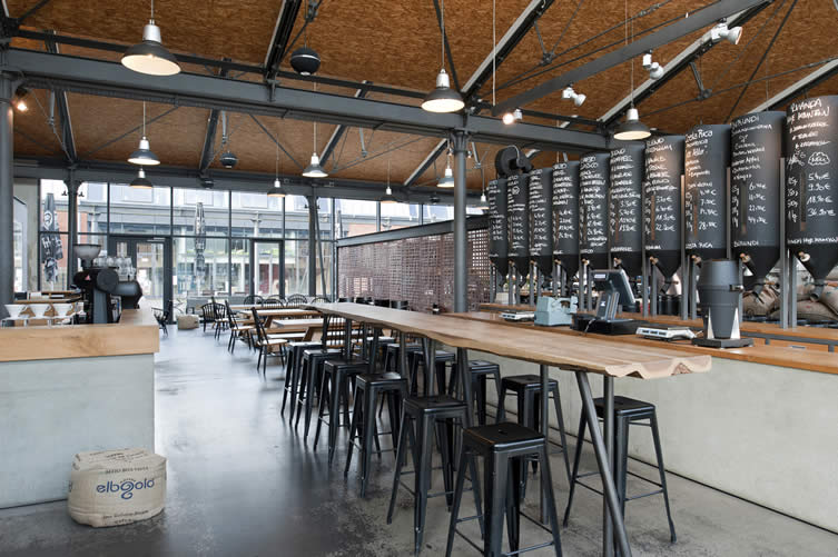 Elbgold's six cafés are all distinctively unique in term of design