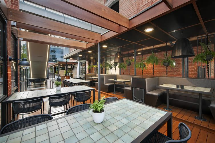 Electra house hotel adelaide bar and restaurant for Oriental furniture adelaide