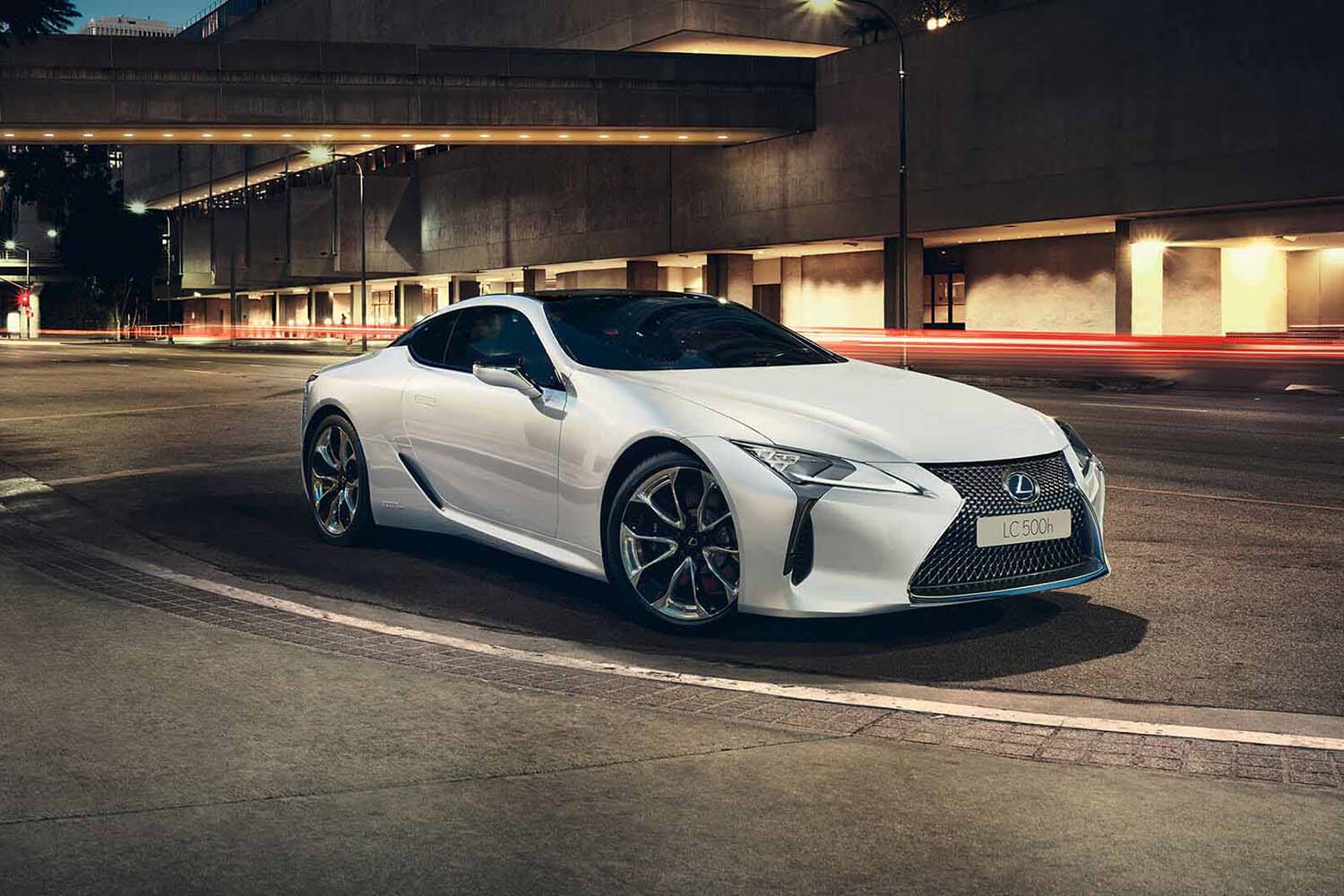 Top 10 Sustainable Luxury Cars for 2020: Lexus LC500H