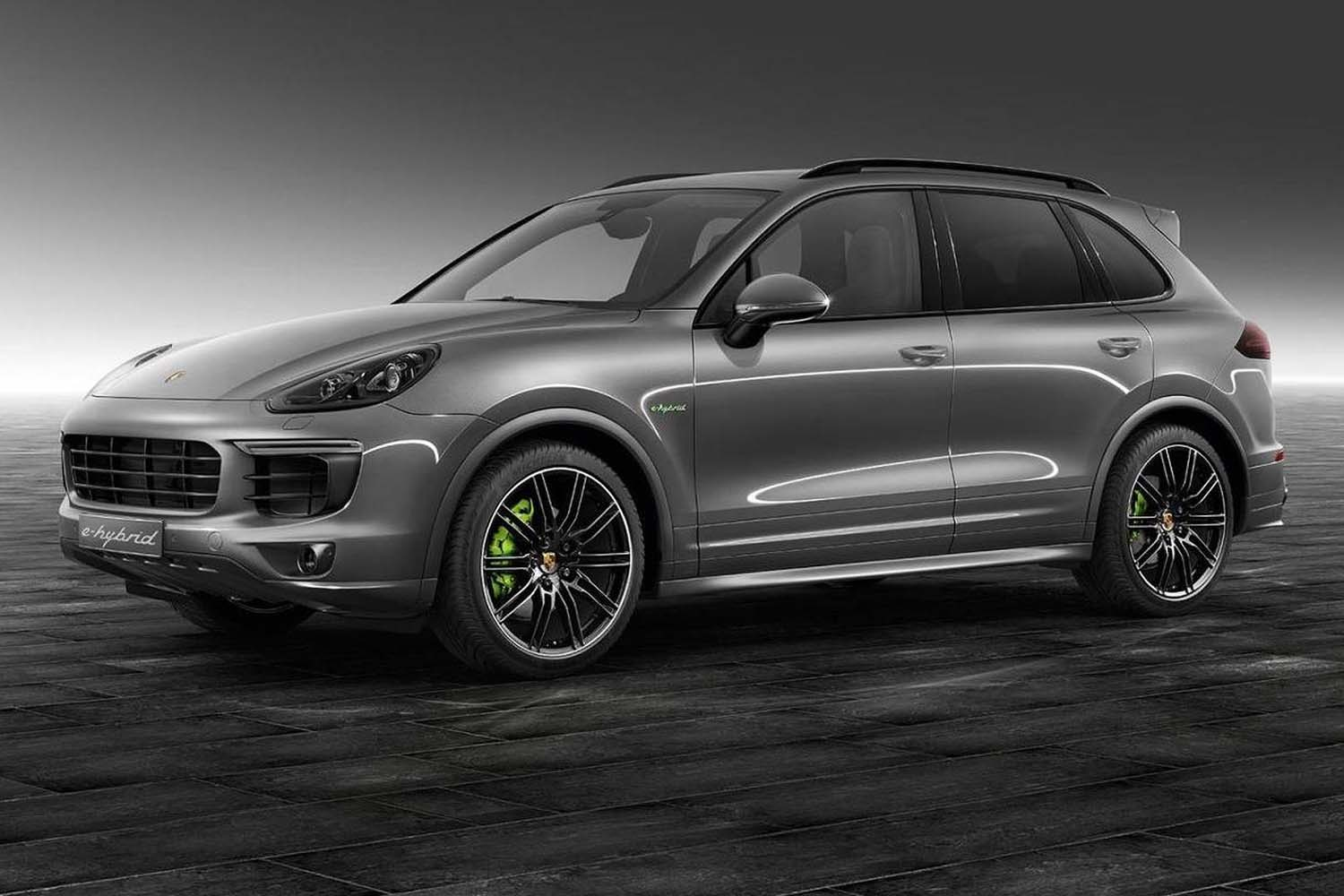 Top 10 Sustainable Luxury Cars for 2020: Porsche Cayenne E-Hybrid