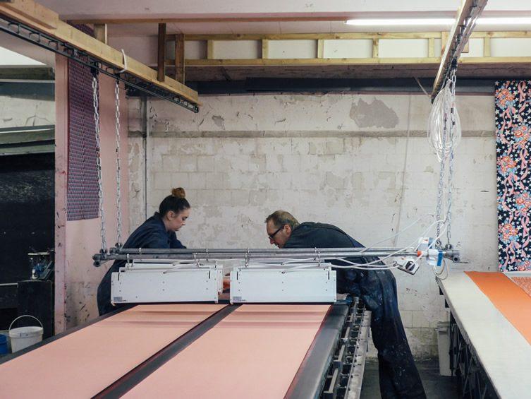 Eley Kishimoto Studio Visit