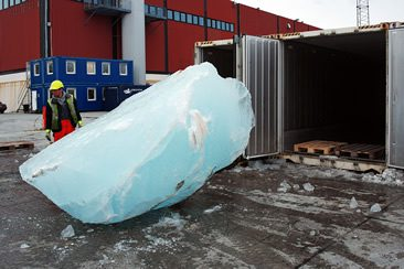 Olafur Eliasson and Minik Rosing — Ice Watch, Copenhagen