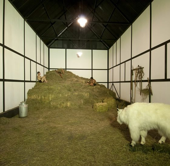 Elmgreen and Dragset, German Barn