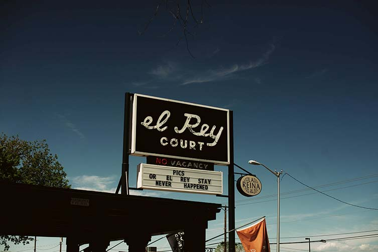 El Rey Court, Santa Fe Design Motel on Route 66 by Jay and Alison Carroll