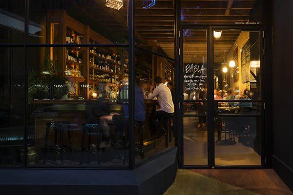 Embla Melbourne. Embla Wine Bar Russell Street