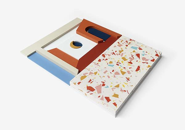 Emily Forgot, RESORT: Hand Painted Wood and Jesmonite Terrazzo Assemblages