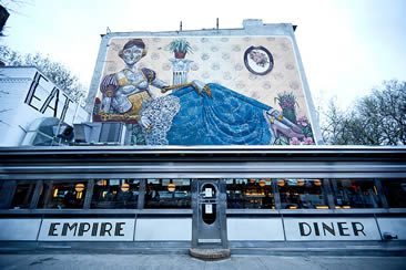 Empire Diner, West Chelsea
