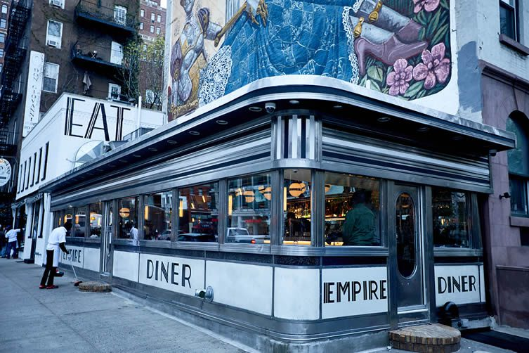 Empire Diner New York: West Chelsea Diner, Cafeteria Group