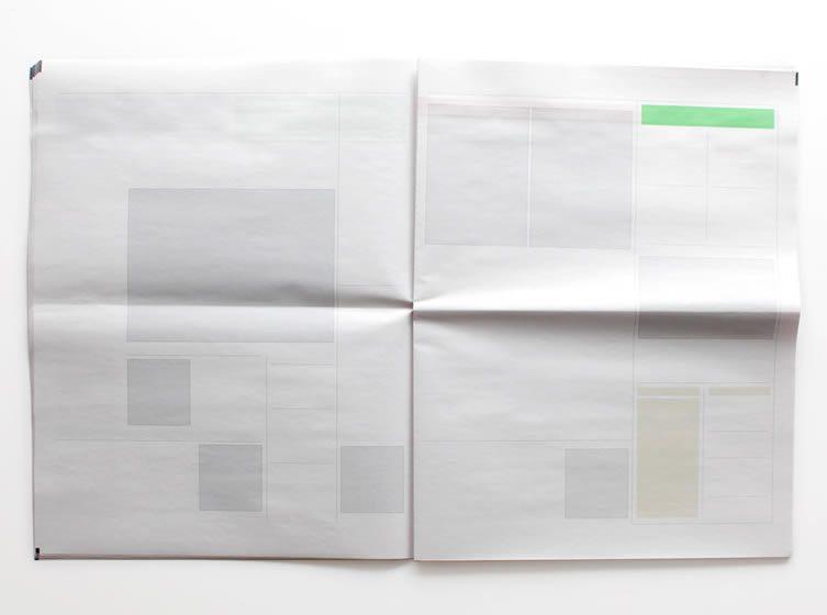 Joseph Ernst's Empty Newspapers