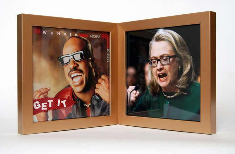 Eric Yahnker — Ebony & Benghazi