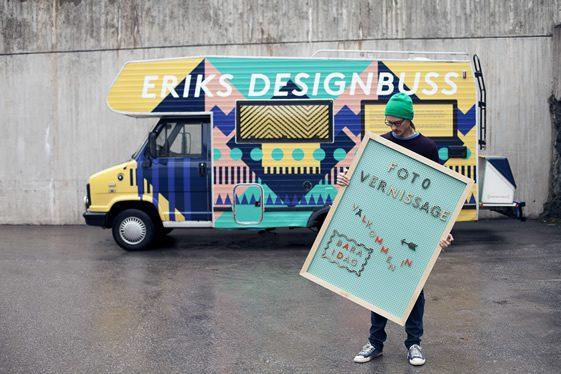 Erik's Designbuss
