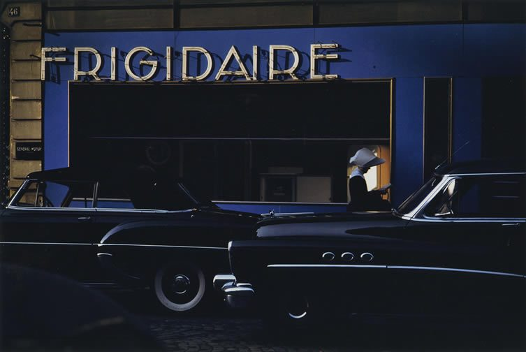 Frigidaire, Paris, 1954