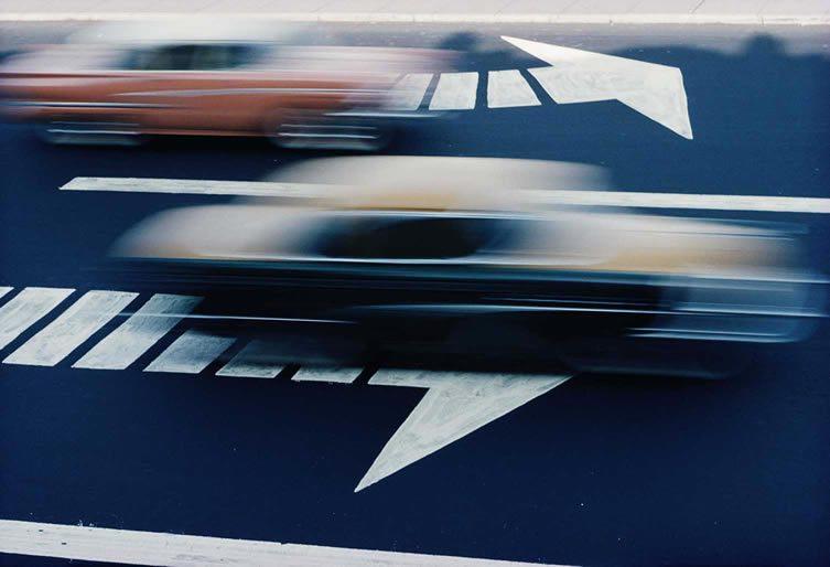 Traffic, New York City, 1963