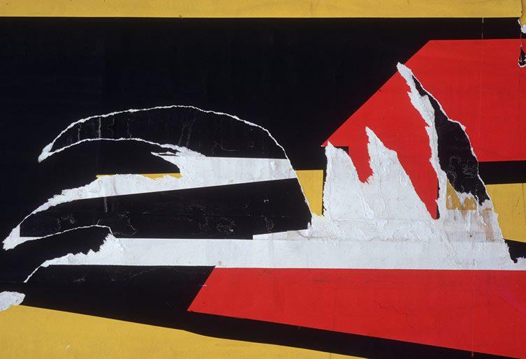 Torn Poster I - Wave, NVC, 1968