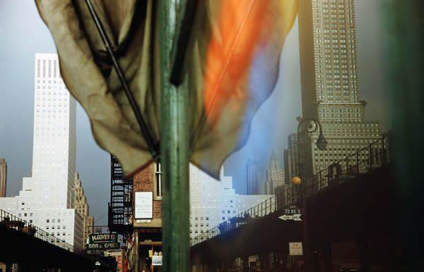 Third Avenue Reflection, New York City, USA, 1952