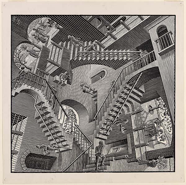 Escher X nendo, Between Two Worlds at the National Gallery of Victoria Melbourne