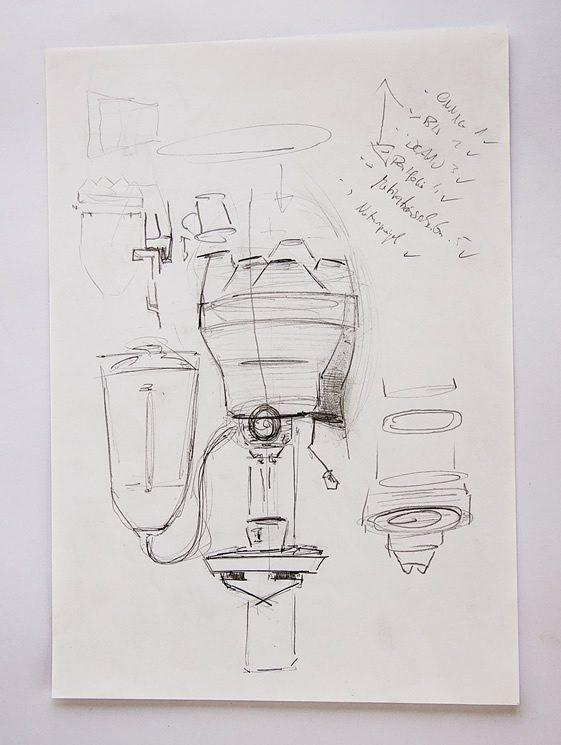 Porcelain Espresso Machine, Arvid Häusser