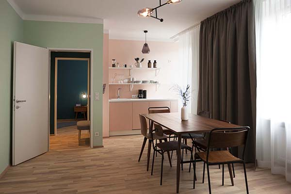 etagerie Linz by URBANAUTS Hospitality, Design Hotel Apartments in Linz